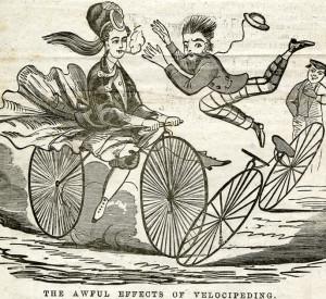 smoking cyclist