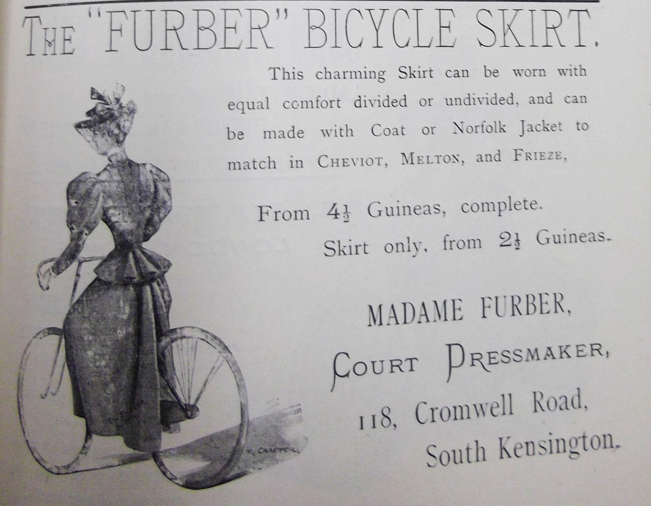 LC pt 1, vol2, Mar 1896 - furber skirt by court dressmaker