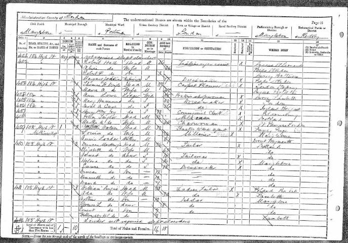 option 3 - 1891 census whole